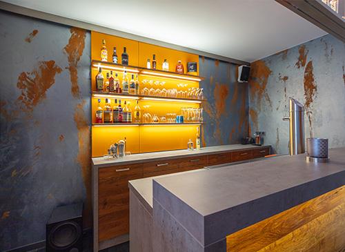 Wandbeschichtung Grandezza - Spezialist für Wand und Bodenbeschichtung
